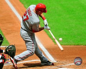 Mike Trout 2011 Action