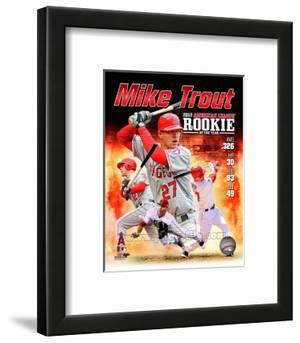 Mike Trout 2012 American League Rookie of the year Composite