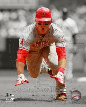 Mike Trout 2012 Spotlight Action