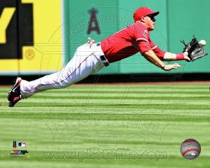 Mike Trout 2013 Action
