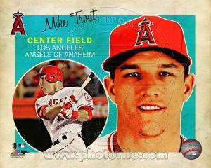 Mike Trout 2013 Studio Plus