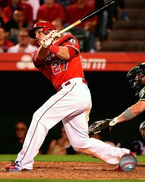 Mike Trout 2014 Action
