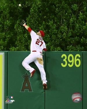 Mike Trout 2015 Action