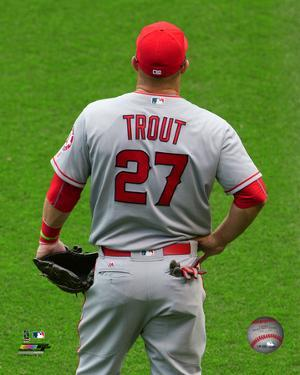 Mike Trout 2016 Action