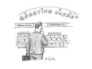 Corporate Greeting Cards - Cartoon by Mike Twohy