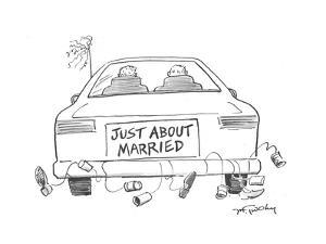 Just about Married - Cartoon by Mike Twohy