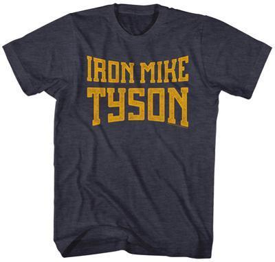Mike Tyson- Iron Mile Block Logo