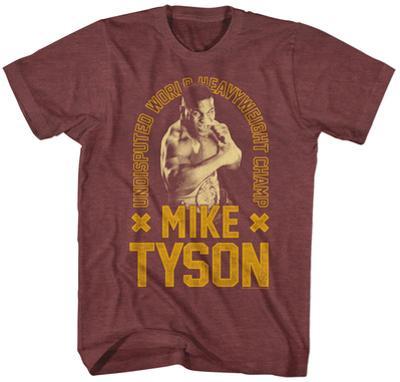 Mike Tyson- Undisputed World Heavyweight Champ