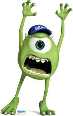 Mike Wazowski - Disney Pixar Monsters University Lifesize Standup
