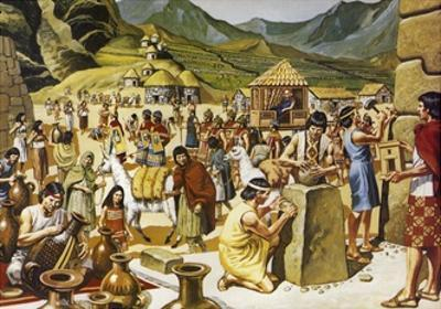 Everyday Life in an Inca Community