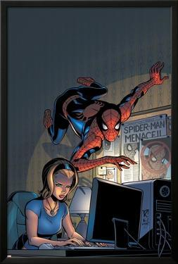 Friendly Neighborhood Spider-Man No.5 Cover: Spider-Man by Mike Wieringo