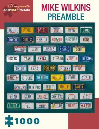 Mike Wilkins - Preamble 1000 Piece Jigsaw Puzzle