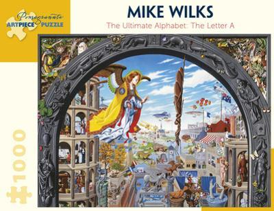 Mike Wilks: The Ulimate Alphabet: The Letter A 1000 Piece Puzzle