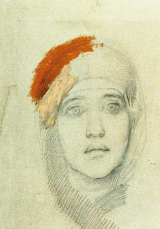 Study for the Virgin, 1884