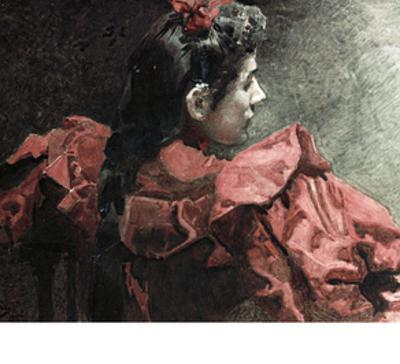 The Woman in Red, 1895
