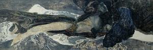 Flying Demon by Mikhail Alexandrovich Vrubel