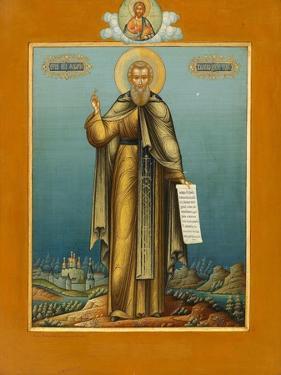 Saint Macarius of Unzha, C. 1910 by Mikhail Ivanovich Dikaryov