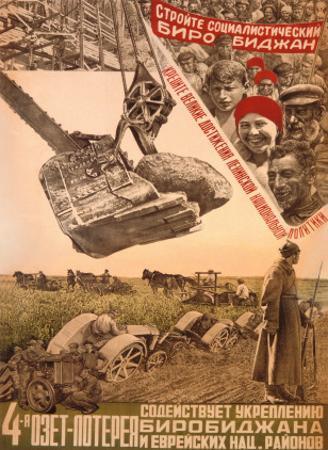 Stroite Socialisticheskij Birobidzhan by Mikhail O. Dlugach