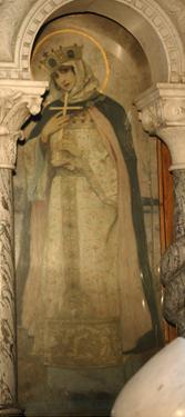 Saint Olga, Princess of Kiev, 1885-1896 by Mikhail Vasilyevich Nesterov