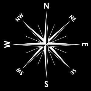 Compass Rose, Artwork by Mikkel Juul