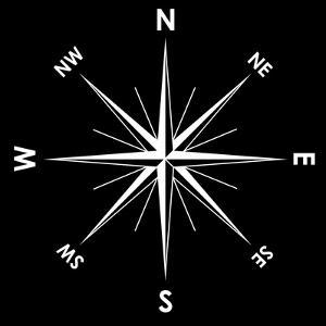 Compass Rose, Artwork by Mikkel Juul