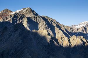 Europe, Austria/Italy, Alps, South Tyrol, Mountains. View from Passo Rombo / Timmelsjoch by Mikolaj Gospodarek