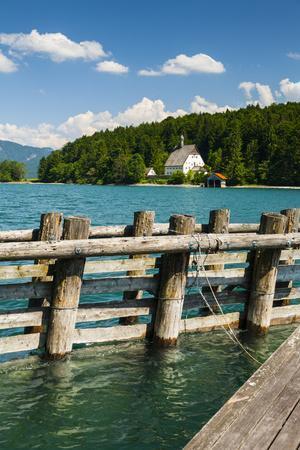Europe, Germany, Bavaria, Alps, Walchensee