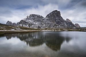 Europe, Italy, Alps, Dolomites, Mountains, Belluno, Sexten Dolomites, Laghi dei Piani by Mikolaj Gospodarek