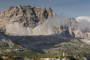 Europe, Italy, Alps, Dolomites, Mountains, Belluno, Sexten Dolomites by Mikolaj Gospodarek