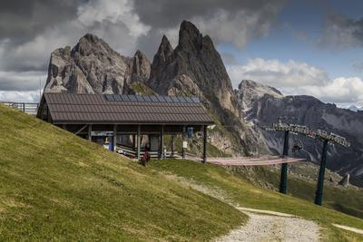 Europe, Italy, Alps, Dolomites, Mountains, South Tyrol, Val Gardena, Geislergruppe, Seceda