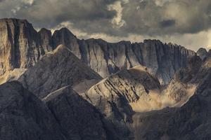 Europe, Italy, Alps, Dolomites, Mountains,  Trentino / Veneto, Marmolada, Col Margherita Park by Mikolaj Gospodarek