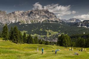 Europe, Italy, Alps, Dolomites, Mountains, Veneto, Belluno, Cortina d'Ampezzo, Pocol by Mikolaj Gospodarek