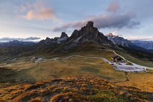 Europe, Italy, Alps, Dolomites, Mountains, Veneto, Belluno, Giau Pass by Mikolaj Gospodarek
