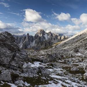 Europe, Italy, Alps, Dolomites, Sexten Dolomites, Veneto, Belluno, Rifugio Lavaredo by Mikolaj Gospodarek
