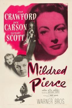 Mildred Pierce, Joan Crawford, Zachary Scott, Jack Carson, 1945