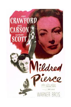 Mildred Pierce - Movie Poster Reproduction