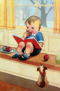 Good Book and a Bite of Apple by Mildred Plew Merryman