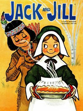 "Wait ""Till It Cools - Jack and Jill, November 1967 by Mildred Zibulka"