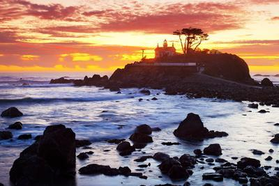 Battery Point Lighthouse at Sunset