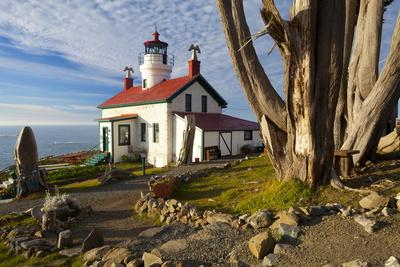 Battery Point Lighthouse, Crescent City, California, United States of America, North America