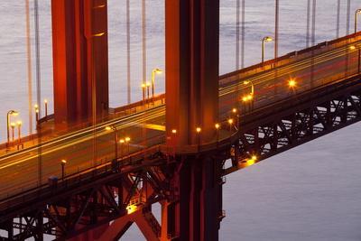 Close-Up of the Golden Gate Bridge