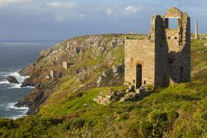 Abandoned Tin Mine Near Botallack by Miles Ertman