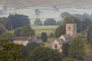 Church, Burnsall, Yorkshire Dales National Park, Yorkshire, England, United Kingdom, Europe by Miles Ertman