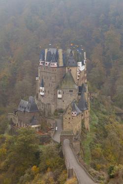 Eltz Castle in Autumn, Rheinland-Pfalz, Germany, Europe by Miles Ertman