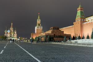 Red Square, St. Basil's Cathedral, Lenin's Tomb and walls of the Kremlin, UNESCO World Heritage Sit by Miles Ertman