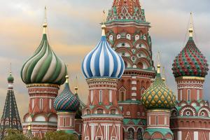 St. Basil's Cathedral, UNESCO World Heritage Site, Moscow, Russia, Europe by Miles Ertman