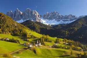 St. Magdalena, Val Di Funes, Trentino-Alto Adige, Dolomites, South Tyrol, Italy, Europe by Miles Ertman