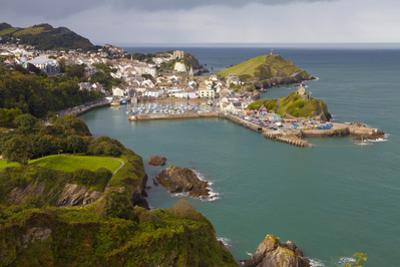 View over Ilfracombe, Devon, England, United Kingdom, Europe by Miles Ertman