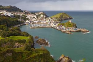 View over Ilfracombe, Devon, England, United Kingdom, Europe by Miles Ertman