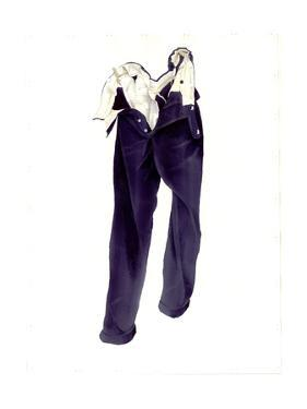 Blue Corduroy Trousers (Humphrey) 2004 by Miles Thistlethwaite